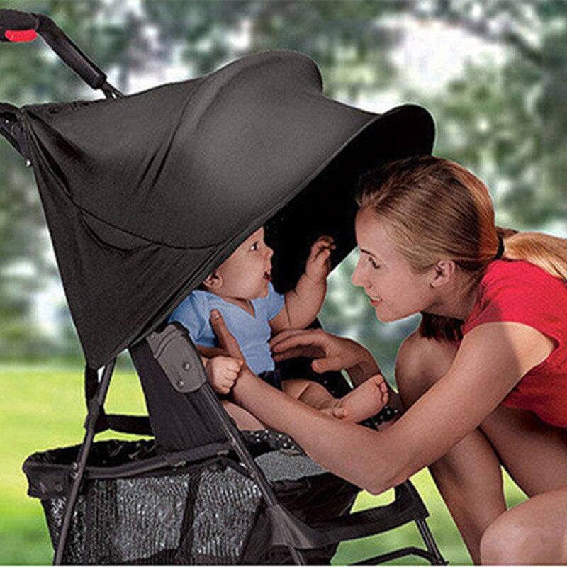 Kinderwagen Schaduw Blokken 99% UV UVB Anti Zonnestralen Cover Baby Auto Luifel Regen Tent Multifunctionele Sunshine Kinderwagen Bescherming