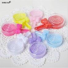 XHRLYLB-boîte à bonbons sucette créative   Boîte à bonbons multicolore en plastique, en option, décoration de mariage pour réception-cadeaux pour bébé, coffret à offrir