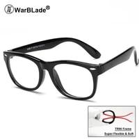 healthy silicone children clear glasses girls boys flexible eyewear frames kids glasses frames optical spectacle frames child