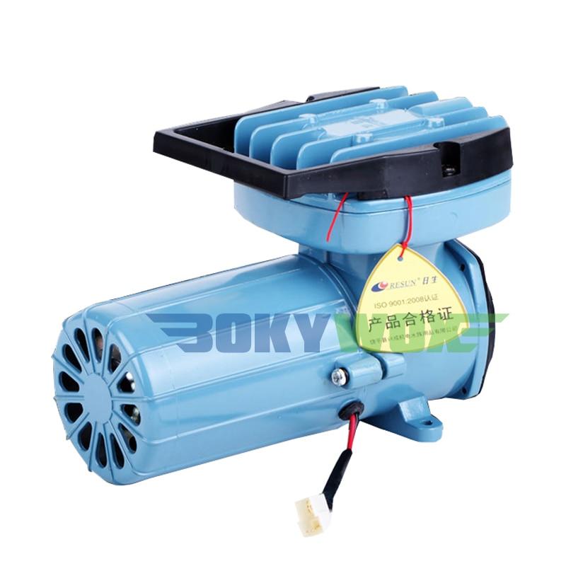 Bomba de aire permanente magnética DC 12 V, 35 W, estanque de acuario Aquaponics caída hidropónica 68L/Min