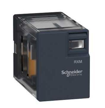 Relé enchufable en miniatura-Zelio RXM2L - 2 C/O - 230 V AC - 5 A-sin LED RXM2LB1P7