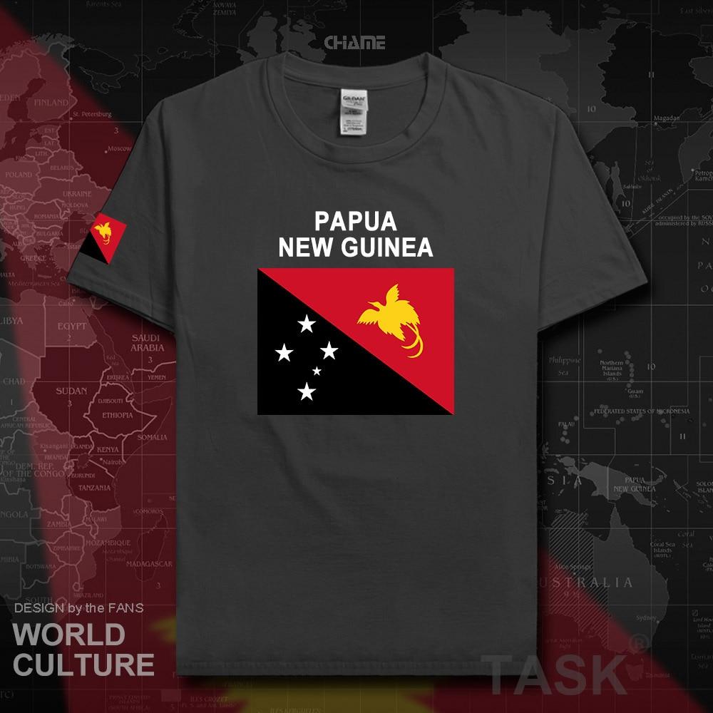 Papúa Nueva Guinea hombres camisetas 2017 jerseys nación camiseta tops camisetas gimnasios Ropa Camisetas país PNG Niugini Niu Gini