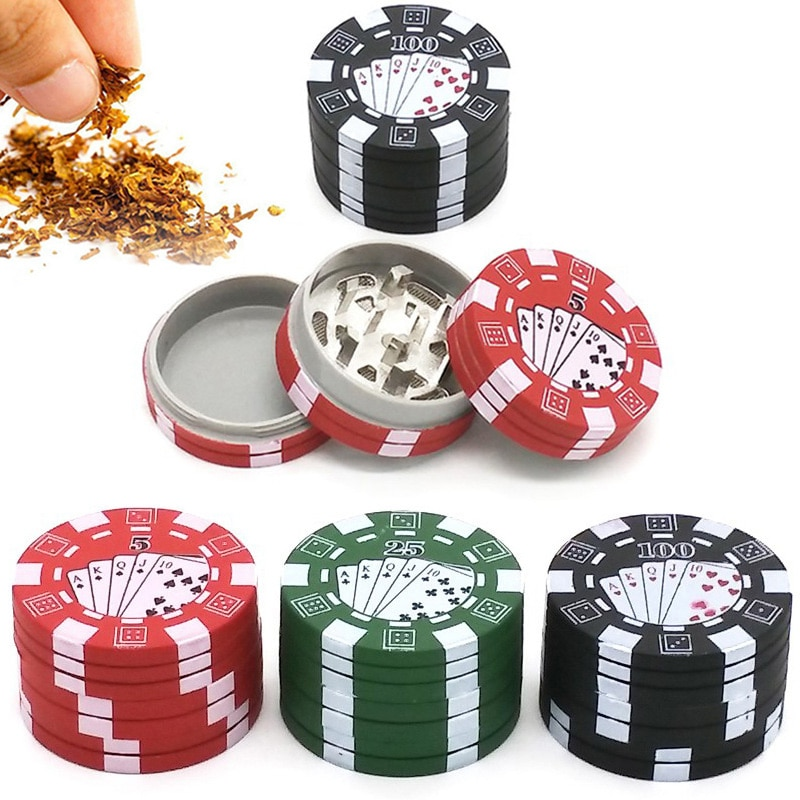 Chip de hierbas trituradora para tabaco de hierbas juego Chip hierba molinos Sigaretten Moledor Shisha fumando herramientas Accesorios