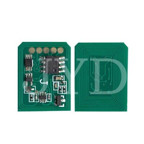 CHIP de restablecimiento de tóner 4PK (KCMY) para impresora OKI C9600 9800