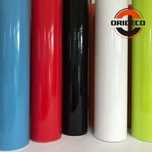 15 kleuren Glossy Auto Kleur Veranderende Film Glossy Vinyl Film Wraps Gloss Zwart Wit Blauw Rood Zilver Glanzende Auto Wrap film Coveres