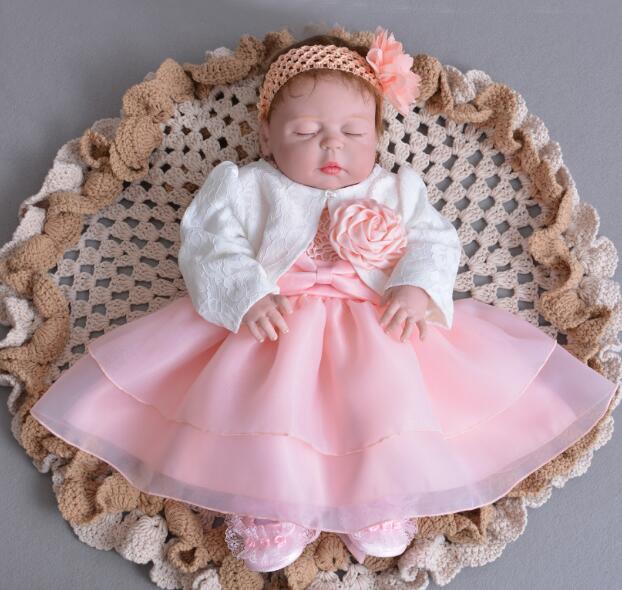 55cm niebieskie oczy noworodka lalki realistyczne Reborn lalki niemowląt całego ciała silikonu winylu Reborn Bebes najlepszy prezent i żyrafa pluszowa zabawka