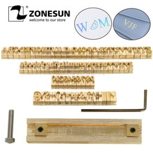 T slot 10cm Leuchte + 52 Alphabet Buchstaben + 10 zahlen + 20 symbol Leder Stempel Verlangen Werkzeug Branding eisen Maschine Form Gestanzte