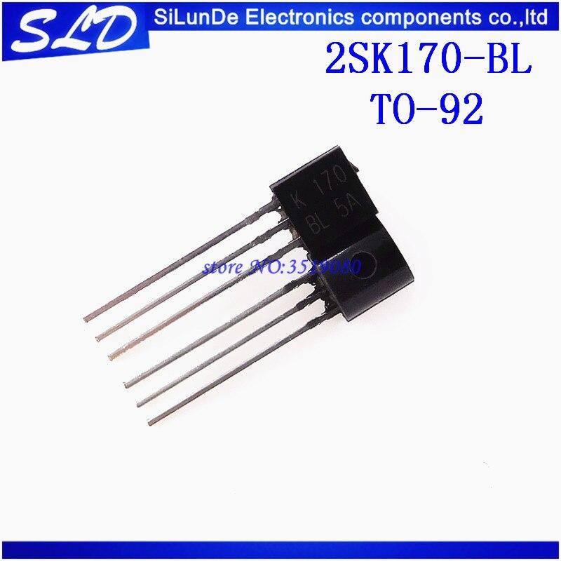 20 unids/lote 2SK170 2SK170BL 2SK170-BL K170 a 92 nuevo y original en Stock