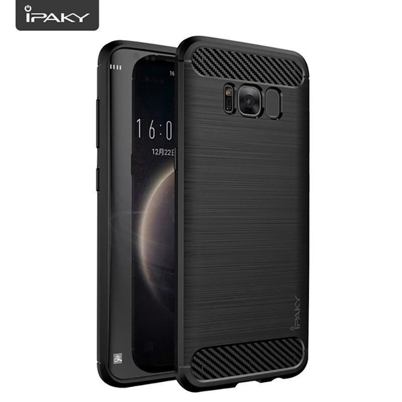 Funda IPAKY de silicona para Samsung Galaxy S6, S7 edge, S8, S9, S10 Plus, 6, 7, 8, 9, 10, S8plus, S10Plus, 4/6, 64/128/256 GB