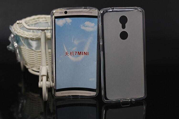 Venta caliente DIY pintado protector teléfono Pudding funda suave TPU cubierta Material de silicona para ZTE Axon 7 mini teléfono cubierta