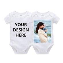 Combinaisons personnalisées pour bébé fille garçon   2020, 3 pièces/lot, vêtements pour bébés enfants à manches longues, vêtements pour nouveau-né