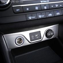 Panneau allume-cigare revêtement dhabillage, accessoire de voiture pour Hyundai Tucson TL porte-boissons 2015