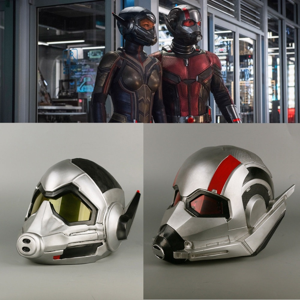 2018 vespa capacete cosplay formiga-homem e a vespa capacete super-herói pvc adereços mulher festa de halloween
