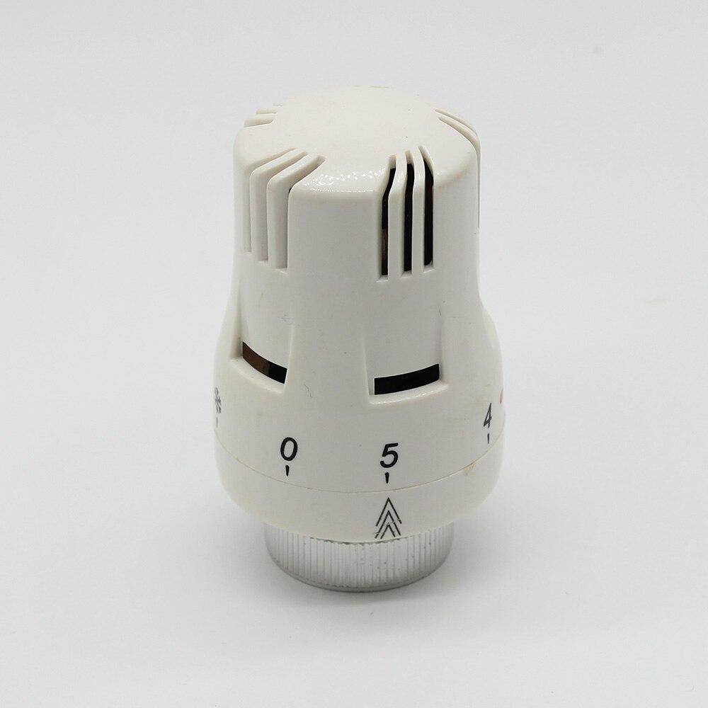 Válvula termostática do radiador de aquecimento Piso sistema de Controle Remoto cabeça da válvula termostática do radiador M30X1.5mm