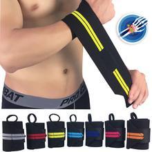 FishSunDay wielofunkcyjny owinięty nadgarstek bandaż elastyczny terapia Sport Wrap ulga w bólu 0723