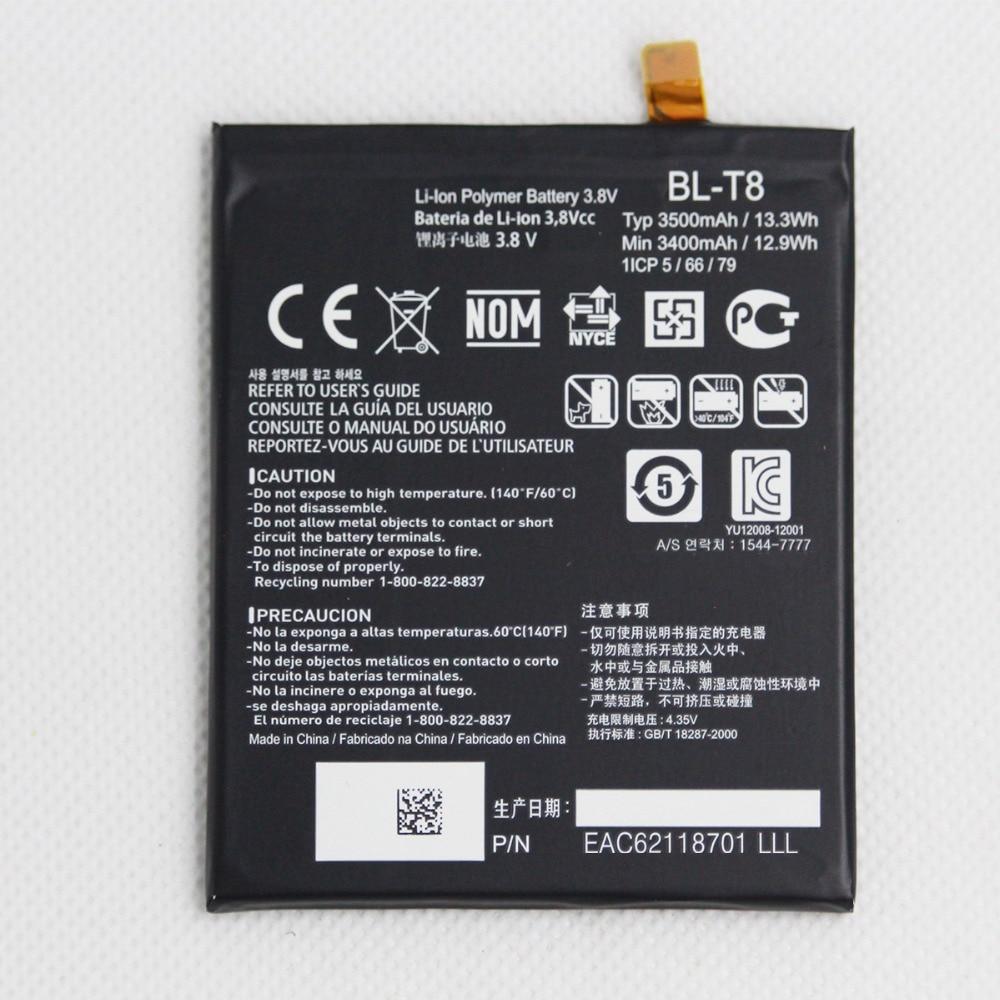 20 pcs lote 3500mah bl t8 bateria do telefone movel para lg g flex d950 d955 d958
