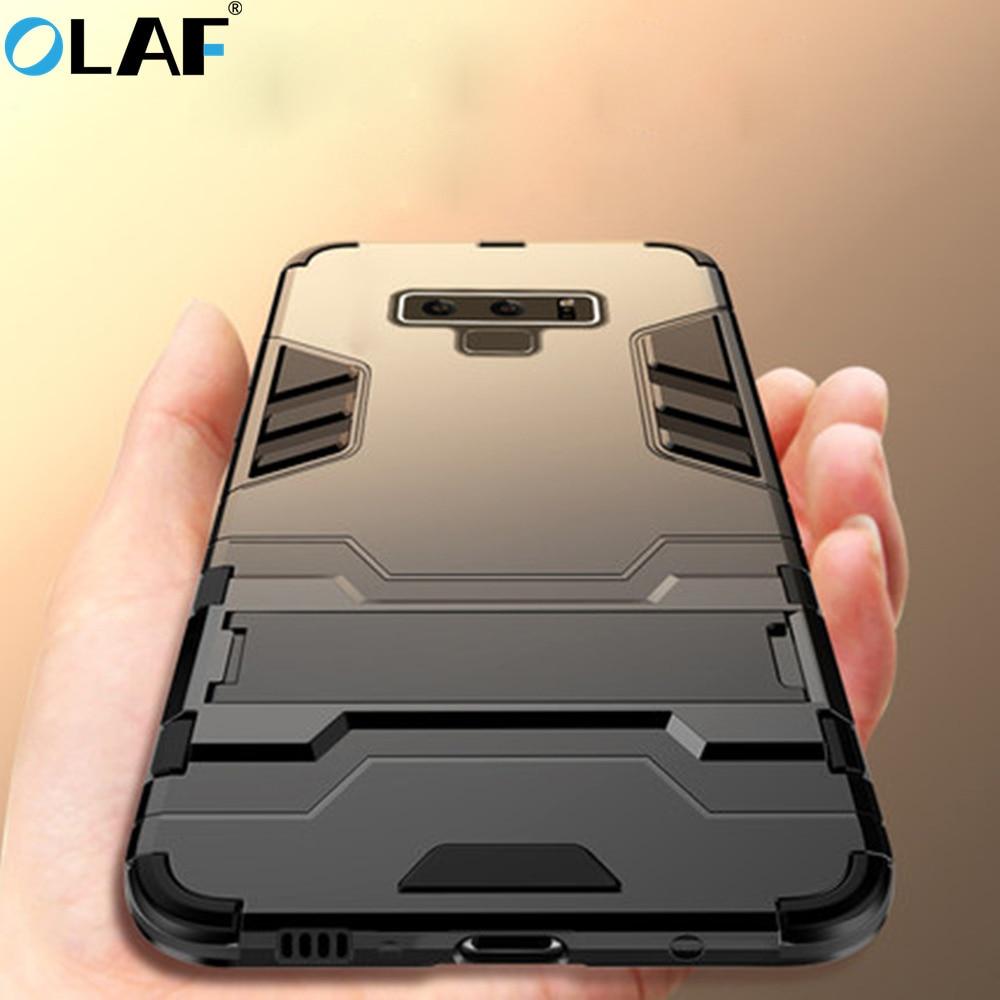 OLAF Armor Case For Samsung Galaxy J3 J4 J5 J6 J7 2018 A3 A5 A7 A6 A8 A9 2017 Case For Samsung S7 S8 S9 Edge Plus Note 9 5 8