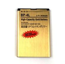 Nouveau BP-4L 3030mAh haute capacité or batterie pour Nokia E63 E71 E72 E73 N97 téléphone portable