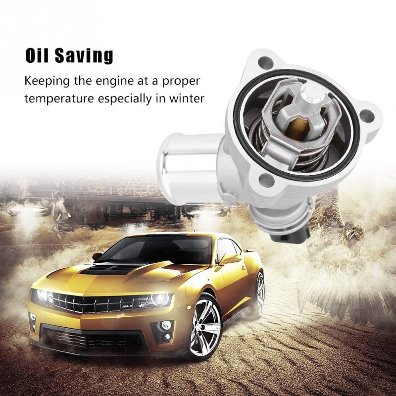 Termostato de enfriamiento de motor de coche 96988257 para GM Chevrolet Spark 2013 2014 2015 accesorios de reemplazo de ABS para automóvil termostato de coche