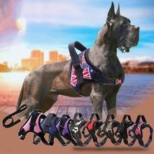 Harnais pour chien et animaux   Nouveau harnais, ruban réfléchissant, mailles respirantes pour chiens, laisse, accessoires harnais YU-Home