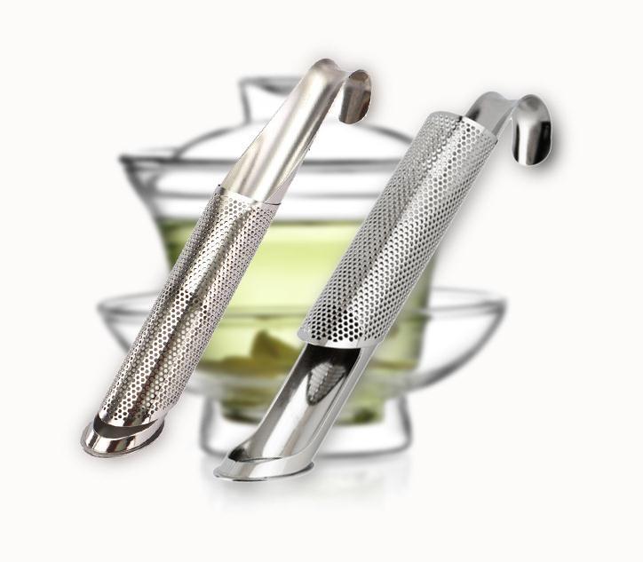 304 عصي فلتر من الفولاذ المقاوم للصدأ ، مصفاة أوراق الشاي ، أنبوب الشاي ، SN1262
