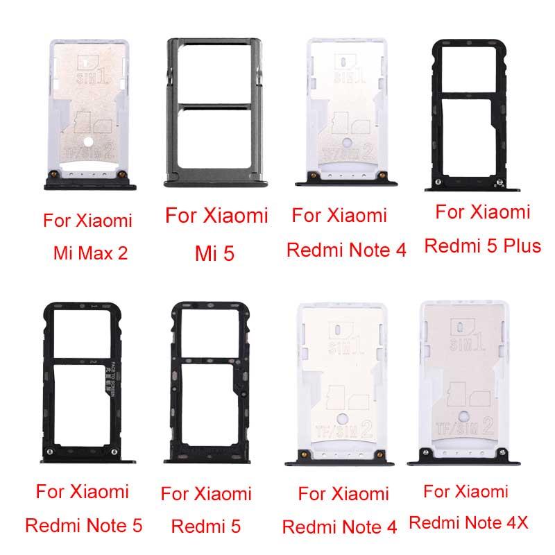 Лоток для sim-карты и sim-карты/TF для Xiaomi Mi Max 2  Redmi Note 4  Note 4X  4X  5 Plus  Note 5  5  Mi 5