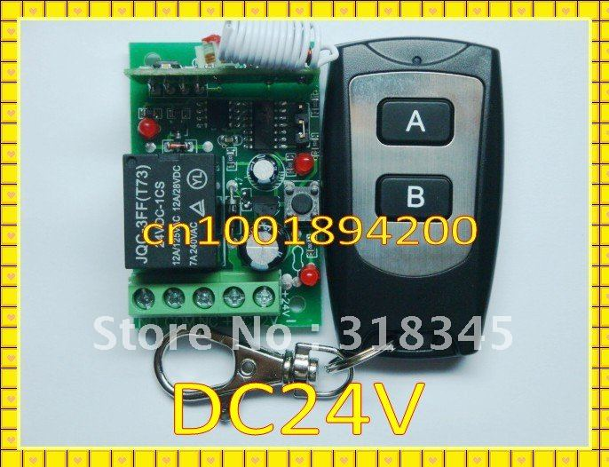 DC12V راديو التحكم عن بعد التبديل System1Receiver و 1 الارسال لحظة تبديل مغلق ضبط التعلم رمز مع مؤشر LED