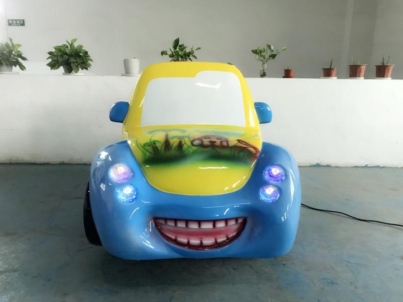 Máquina de columpio para niños de diversiones reforzada con fibra de vidrio FRP kiddie ride en coche de juguete YLW-K1841