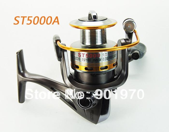 Envío Gratis carrete de aluminio carrete de pesca giratorio 8BB 5,1 1 ST5000A