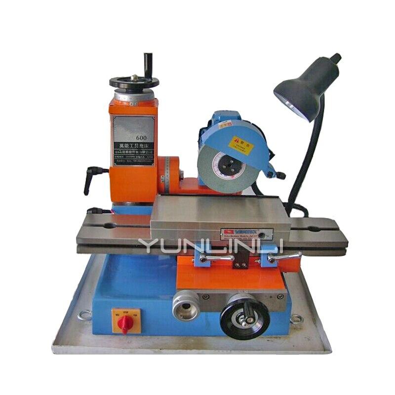 600 Universal Werkzeug Schleifen Maschine Kleine Oberfläche Grinder Fräsen Cutter Schärfen Maschine