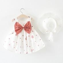 Summer Baby Girl Dress Party Birthday Dress Print Floral Bow Baptism Vestido Infantil Girl Wedding Dresses Princess Dress 6.21