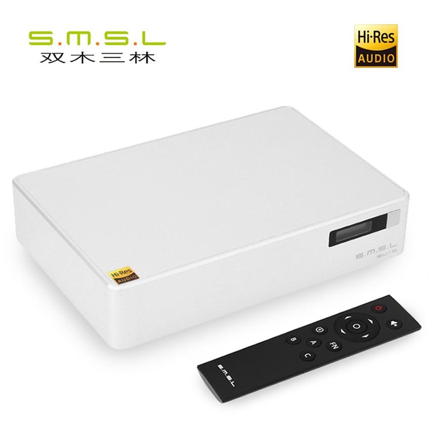 SMSL SU-8 ES9038Q2M * 2 32bit/768kHz DSD512 DAC USB/óptico Coaxial decodificador