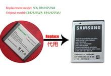 Retail EB424255VA EB424255VU batterij voor SAMSUNG R640, R380, A667, M550, A927, T479, C5530, GT-S3350 GT-S3850...