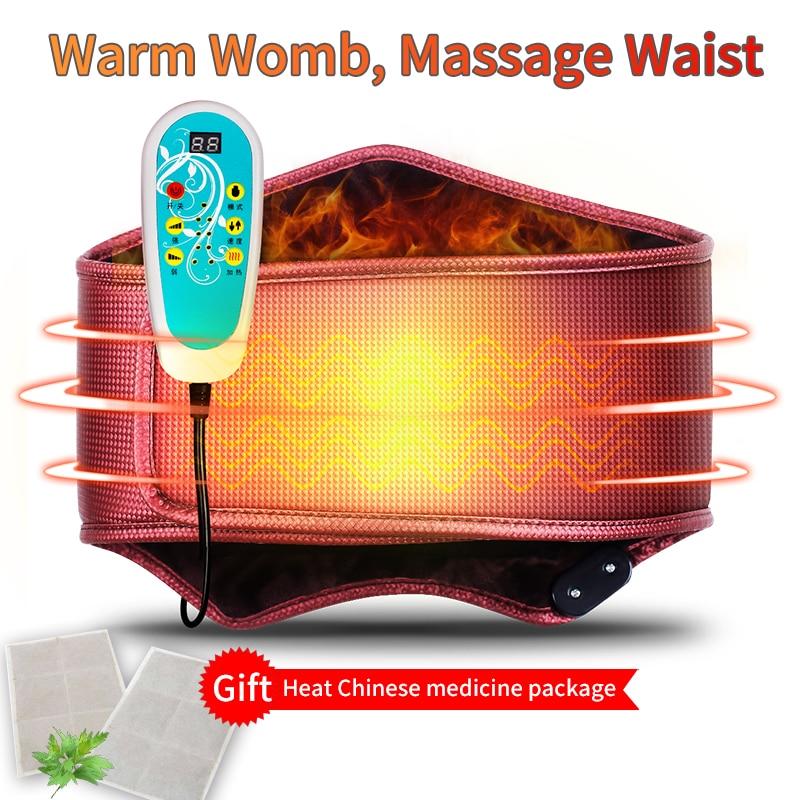 MZ Electric heating protect massage waist shapers waist slimming belt shaper body shaper electric waist support  modeling strap