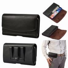 Leather Pouch Holster Belt Clip Case For Blackberry Key 2 LE Motion Aurora DTEK60 DTEK50 Priv Leap Ulefone X S9 Pro OUKITEL WP6