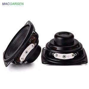 MACGARSEN 2pcs 2 Inch portable Full Range Speaker 4 ohm 5W Music Radio Speaker 16 Core DIY Home Theater Bluetooth Speakers