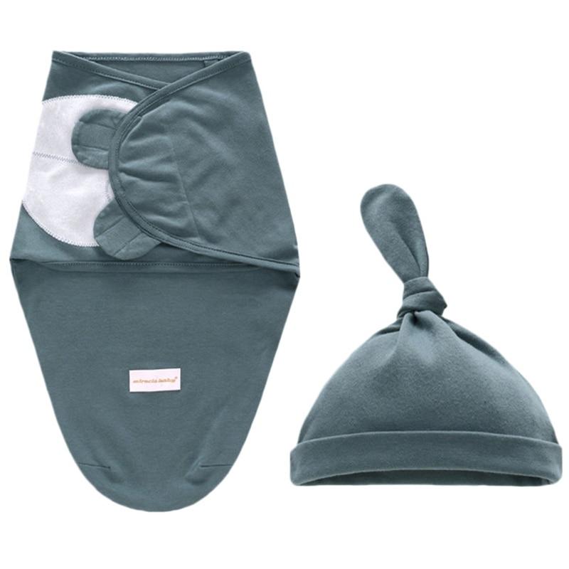 Manta para bebé, manta para recién nacido, sobre de algodón, saco para dormir para bebé, saco para envolver al bebé, ropa de cama de 0 a 6 meses