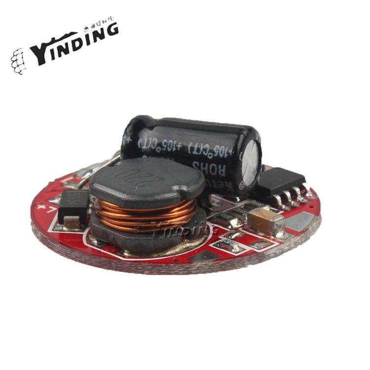 1 Uds. Linterna controlador 5 modos 26MM 6-15V placa de circuito para 5 * Q5 DIY partes antorcha accesorios QD-01