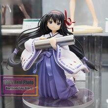 14cm japonais figure danime Puella Magi Madoka Magica Akemi Homura Miko PVC figurine daction jouet collection poupée modèle