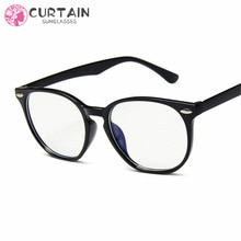 Anti-Blue Light Classic Sunglasses Women Sun Glasses Men Shades Clear Lens Eyeglasses Plastic Frame