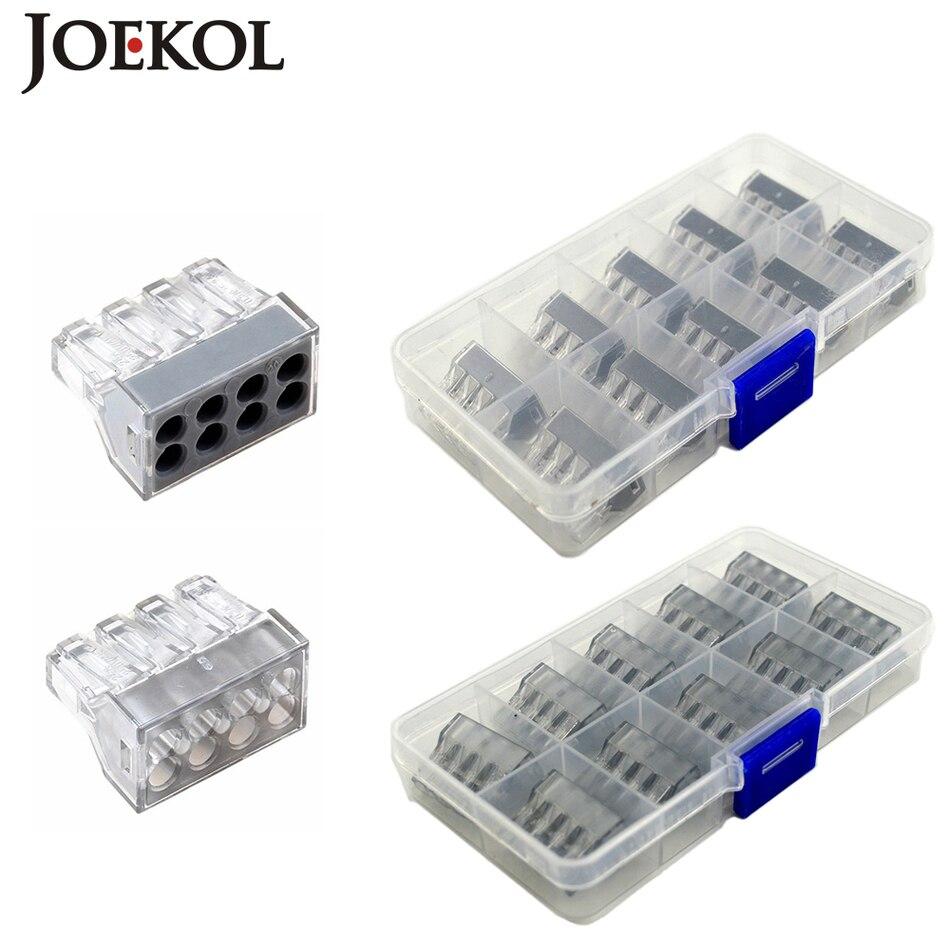 (10 шт./кор.) 773 108 8P Проводные разъемы для распределительной коробки 8 контактов