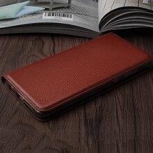 Vintage Litch Genuine Leather Case For Meizu MX4 / Pro MX5 MX6 U10 U20 E E3 Mobile Phone Retro Flip Cover Leather Cases