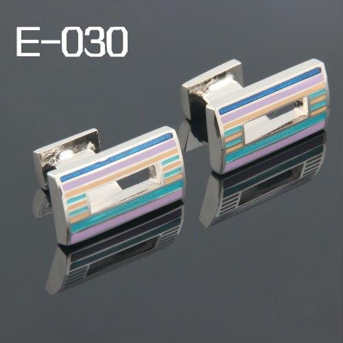 Мужские аксессуары модные запонки Бесплатная доставка: Высокое качество запонки для мужчин эмаль 2013 запонки E-030 оптовая продажа недорого