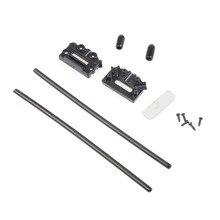 1 pièces CC3D Atom V Type récepteur antenne piédestal boîte fixation siège support de montage pour étranger à travers RC FPV quadrirotor Q14709