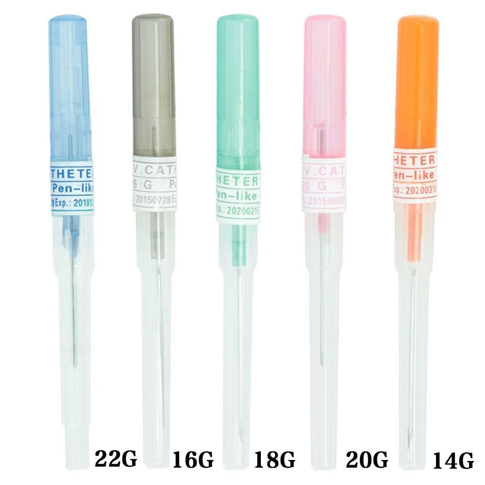 Agujas para Piercing corporal de acero quirúrgico antialérgico 14G-22G herramientas para perforación corporal herramientas de joyería