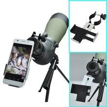 Datyson 38mm-50mm Kompatibel mit Fernglas Monokulare Spektive Teleskope adapter Smartphone Capturer