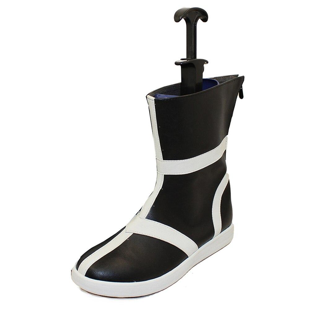 Brdwn بليتش الرجال كوروساكي Ichigo تأثيري قصيرة اليابانية كندو الأحذية حذاء مصنوع حسب الطلب