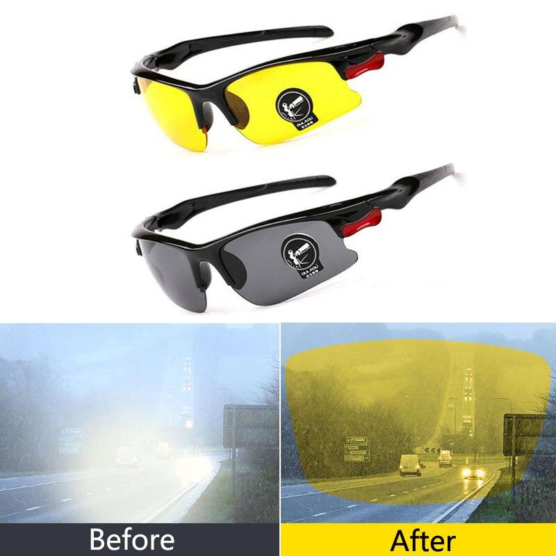 Gafas de sol polarizadas de visión nocturna de coche para Hyundai solaris accent ix35 i20 elantra santa fe tucson getz