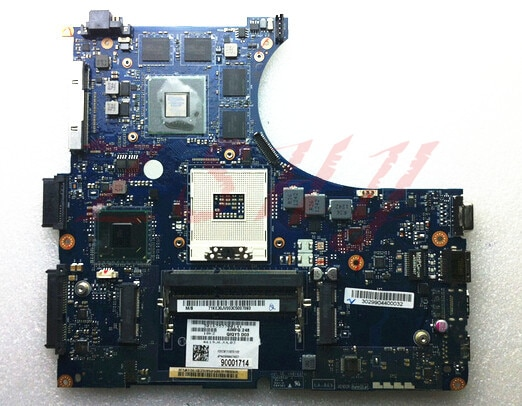 Para LENOVO Y400 Y490 placa base de computadora portátil QIQY5 LA-8691P 100% prueba ok