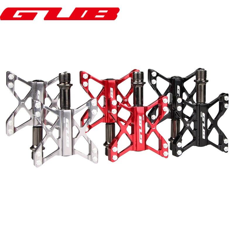 GUB GC009 MTB Mountain Road Bike Bicycle 3 Bearing Pedals Lightweight Parts Red Black
